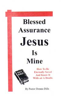 blessed assurance jesus is mine